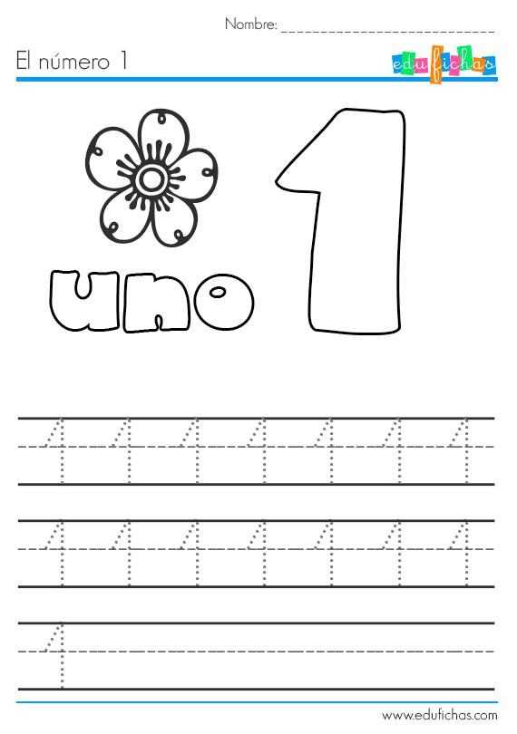 el número 1