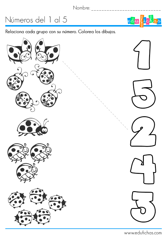 Numeros En Ingles Del 1 Al 10 Para Imprimir T5epo7Bxq on Count The Ladybugs And Circle Numbers 1 To